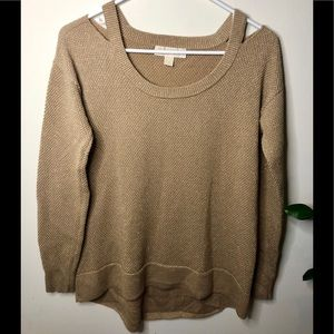 Gold Sparkly Michael Kors Sweater